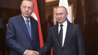 Ερντογάν και Πούτιν εξέφρασαν τις ανησυχίες τους για την Ιντλίμπ