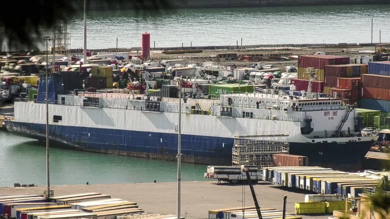Ιταλία: Συνελήφθη ο πλοίαρχος λιβανέζικου πλοίου - Κατηγορείται ότι μετέφερε όπλα στη Λιβύη
