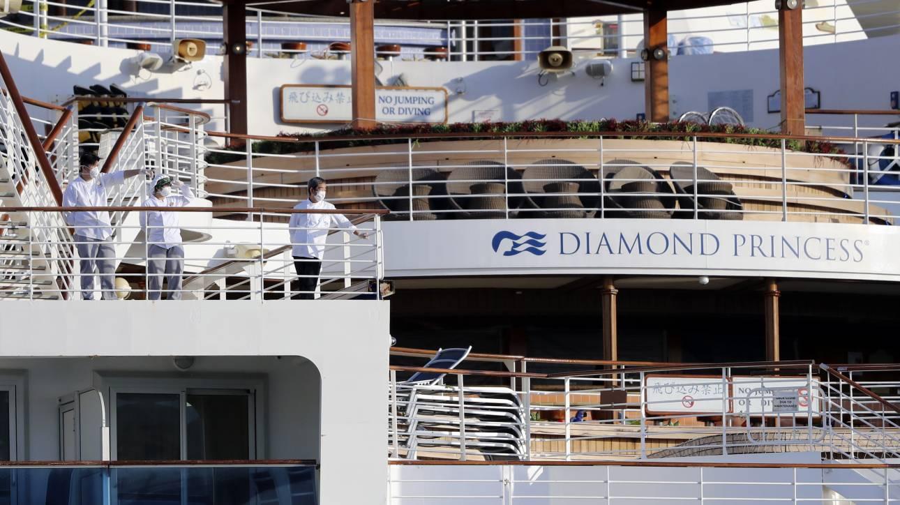 Κοροναϊός: Επαναπατρίστηκαν οι δύο Έλληνες του Diamond Princess