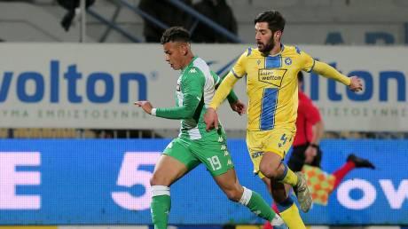 Αστέρας Τρίπολης – Παναθηναϊκός 1-1: Ντέρμπι με ισοπαλία