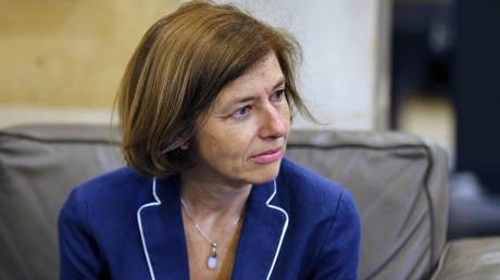 Στην Αθήνα η υπουργός Άμυνας της Γαλλία Φλοράνς Παρλί