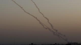 Παλαιστίνιοι εκτόξευσαν ρουκέτες στο Ισραήλ μετά το αεροπορικό πλήγμα στη Συρία