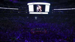 Συγκινητική τελετή στη μνήμη του Κόμπι Μπράιαντ στο Staples Center