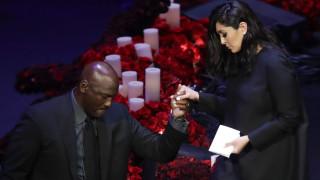 «Δάκρυσε» το Staples Center στο τελευταίο «αντίο» του Κόμπι Μπράιαντ