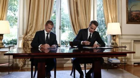 Ποδοσφαιρικό μνημόνιο κυβέρνησης με UEFA - FIFA: Οι βασικές προβλέψεις