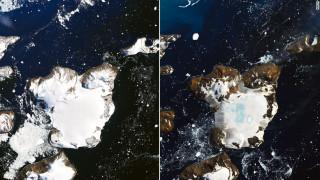 Έλιωσε το 20% του χιονιού σε νησί της Ανταρκτικής λόγω κύματος καύσωνα