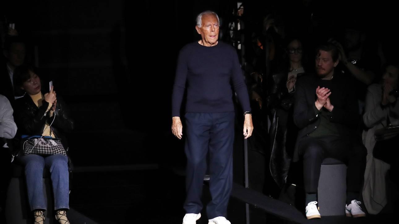 Τζόρτζιο Αρμάνι: «Οι σχεδιαστές μόδας βιάζουν τις γυναίκες» - Η δήλωση που προκάλεσε σάλο