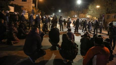 «Καζάνι που βράζει» η Μυτιλήνη: Συνεχίζονται οι κινητοποιήσεις - Νέες συγκρούσεις