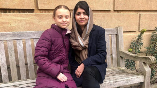 Μαλάλα Γιουσαφζάι και Γκρέτα Τούνμπεργκ: Τα δύο κορίτσια - «σύμβολα» συναντήθηκαν