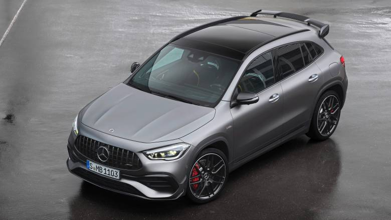 Αυτοκίνητο: H νέα Mercedes-AMG GLA 45 είναι με έως και 421 ίππους ακόμα πιο δυνατή και γρήγορη