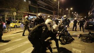 ΑΣΟΕΕ: Με επεισόδια και προσαγωγές ολοκληρώθηκε στην ΓΑΔΑ η πορεία των φοιτητών