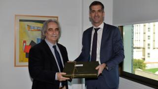 Ο Κώστας Μπακογιάννης στο Ευρωπαϊκό Πανεπιστήμιο Κύπρου