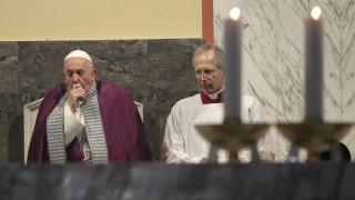 Πάπας Φραγκίσκος: Ματαίωσε προγραμματισμένη εκδήλωση λόγω ασθένειας