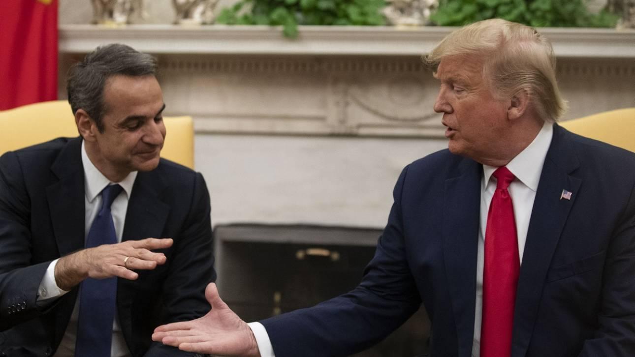 Bloomberg: Σε πλήρη αντίθεση με τις σχέσεις Τραμπ-Μητσοτάκη, το κλίμα μεταξύ Τραμπ-Ερντογάν