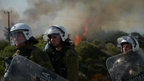 ΕΛ.ΑΣ. για Χίο-Μυτιλήνη: Μη αποδεκτές οι έκνομες ενέργειες, οι αστυνομικοί έχουν στολή και αποστολή