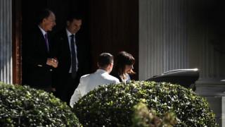 Στο Προεδρικό Μέγαρο η Αικατερίνη Σακελλαροπούλου