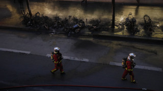 Πυρκαγιά και ταραχές στο Παρίσι στο περιθώριο της συναυλίας Κονγκολέζου καλλιτέχνη