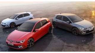 Τα νέα, γρήγορα VW Golf είναι τρία: το GTI και το υβριδικό GTE με 245 ίππους και το GTD με 200