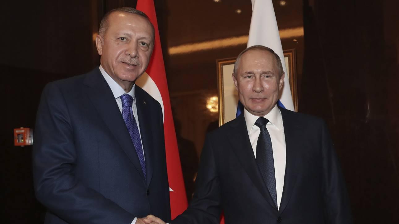 Συνάντηση Πούτιν - Ερντογάν στις 5-6 Μαρτίου