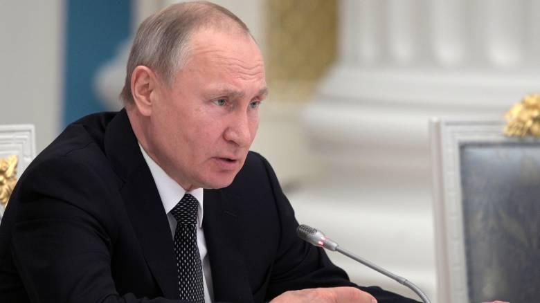 Πούτιν: Η Ρωσία δεν θέλει να πάει σε πόλεμο με κανέναν