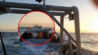 Βίντεο - ντοκουμέντο: Συνοδεία τουρκικής ακταιωρού οι προσφυγικές βάρκες