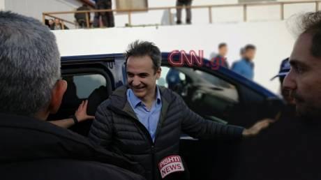 Το CNN Greece στον Έβρο: Καρέ - καρέ η επίσκεψη Μητσοτάκη
