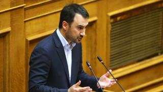 Χαρίτσης: Ο Μητσοτάκης δέχεται να γίνει η Ελλάδα αποθήκη ψυχών