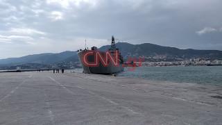 Το CNN Greece στη Μυτιλήνη: Το αρματαγωγό «Ρόδος» θα παραλάβει 500 πρόσφυγες και μετανάστες