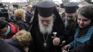 Έβρος: Κοντά στους φρουρούς των συνόρων ο Αρχιεπίσκοπος Ιερώνυμος