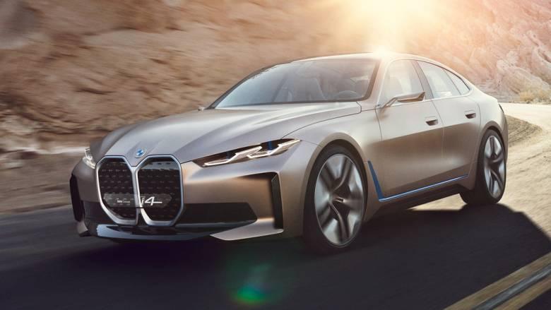 Το Concept i4 δείχνει την τελική σχεδόν εικόνα της ηλεκτρικής οικογενειακής BMW