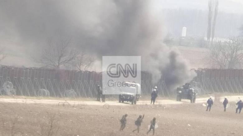 Έβρος: Οι Τούρκοι φώναζαν στους μετανάστες να επιτεθούν στους Έλληνες στρατιωτικούς