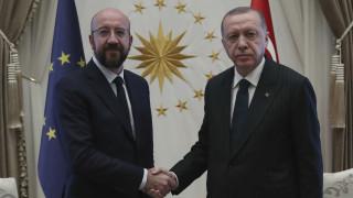 Στήριξη Μισέλ σε Ελλάδα, Κύπρο και Βουλγαρία μετά τη συνάντησή του με τον Ερντογάν