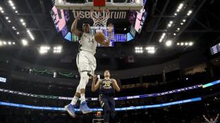 Ασταμάτητοι Αντετοκούνμπο και Μπακς: Επικράτησαν των Πέισερς και οδεύουν προς την πρωτιά στο NBA