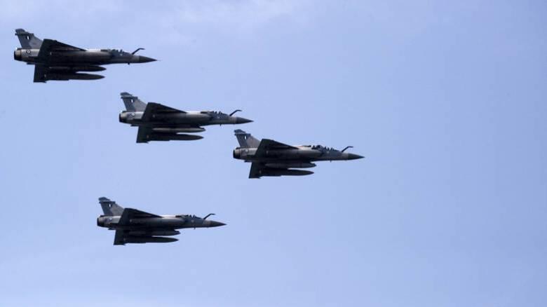 Πτήσεις τουρκικών F-16 πάνω από Παναγιά και Οινούσσες