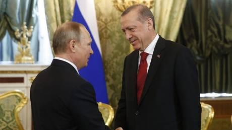 Συνάντηση Πούτιν - Ερντογάν με «φόντο» την Ιντλίμπ και τον Έβρο