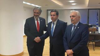 Συναντήσεις Προέδρων ΔΟΕΣ και Ε.Ε.Σ. με τον Υφ. Προστασίας του Πολίτη και τον Υπ. Μετανάστευσης