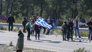 Σέρρες: Διαμαρτυρία κατοίκων για τη δημιουργία κλειστού κέντρου φύλαξης προσφύγων