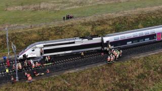 Εκτροχιασμός τρένου στη Γαλλία – 21 τραυματίες