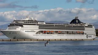 Κορωνοϊός: Έφτασε στο λιμάνι της Κέρκυρας το ΜSC Οpera - Δεν νοσεί κανείς από τους επιβάτες