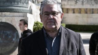 Κουτσούμπας: Αλληλεγγύη του ΚΚΕ στον κυπριακό λαό για να μην υπάρξει διχοτομική λύση