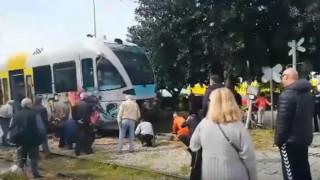 Εκτροχιασμός τρένου στην Πάτρα – Δεν υπάρχουν τραυματίες