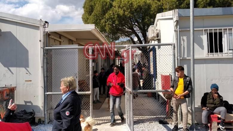 Αποστολή CNN Greece στη Μυτιλήνη: Σε Μόρια και Καρά Τεπέ ο Διεθνής Ερυθρός Σταυρός