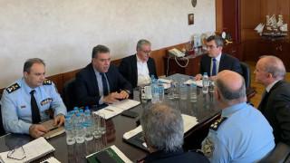 Συνάντηση εργασίας Υπ. Τουρισμού και Προστασίας του Πολίτη ενόψει της νέας τουριστικής περιόδου