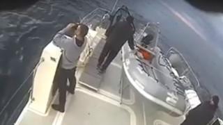 Ντοκουμέντο: Παρενόχληση ελληνικού σκάφους από την τουρκική ακτοφυλακή στο Αιγαίο
