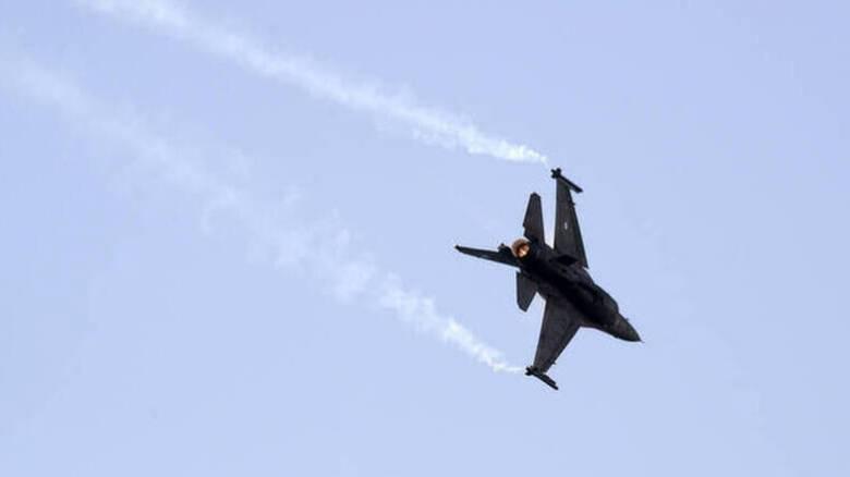 Πτήση τουρκικών F-16 πάνω από τoυς Λειψούς