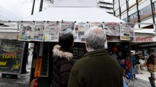 Τα πρωτοσέλιδα των κυριακάτικων εφημερίδων (8 Μαρτίου 2020)