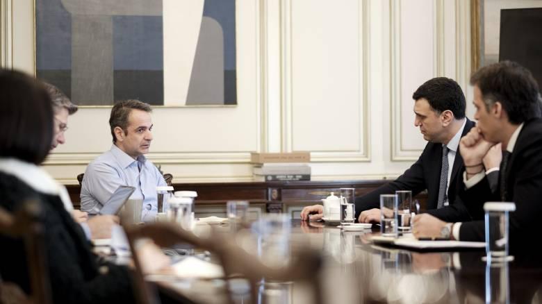 Κορωνοϊός: Ολοκληρώθηκε η σύσκεψη στο Μαξίμου - Εν αναμονή ανακοινώσεων
