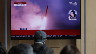 Η Βόρεια Κορέα εκτόξευσε τρεις πυραύλους προς τη Θάλασσα της Ιαπωνίας