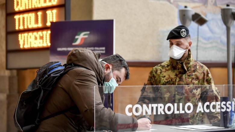 Κορωνοϊός: Ενδέχεται να μολυνθεί το 60% του ιταλικού πληθυσμού λένε οι επιστήμονες