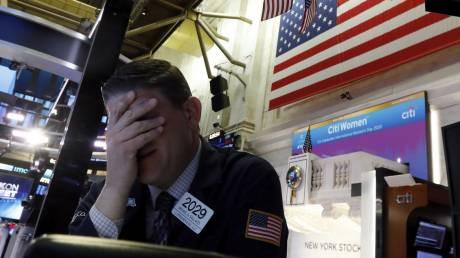 «Μαύρη Δευτέρα» στα χρηματιστήρια λόγω κορωνοϊού